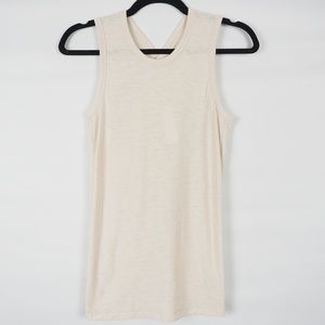 James Perse Wrap Back Tank Top, NWT Size 0